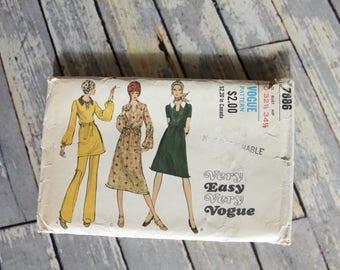 Vintage Vogue Pattern 7886