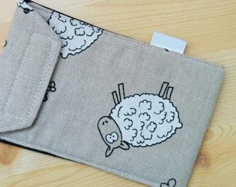 Sheeps mobile case,mobile case,smartphone case,quilted case,smartphone cover, mobile sleeve, mobile cover, iPhone case, iPhone cover