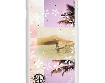 iPhone 6s/6 Case, WAIKIKI GLIDE, iPhone6s, iPhone 6s Plus, Hawaii, Diamond Head, Beach, Aloha,  Avail. with Black or White case color