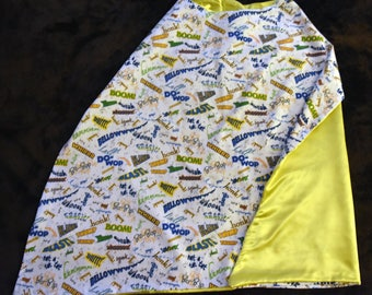Noise Yellow Reversible Cape