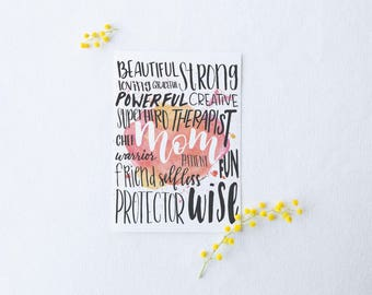 All You Are Mother's Day Card by Honest Mama