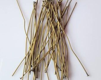 30 nail head brass 75mm