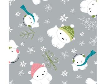 CLEARANCE - Camelot - Winter Wonderland by Heather Rosas - Stone Polar Bear (614154) - Juvenile