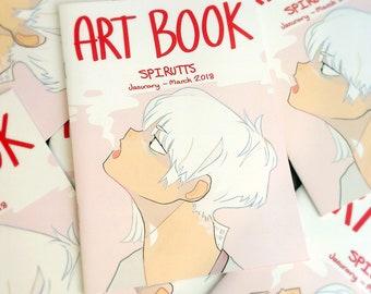 2018 Jan - March Original Artbook 20 pages