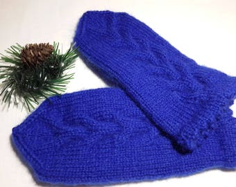 Mittens Women's mittens Knit mittens Hand knitted Hand wear