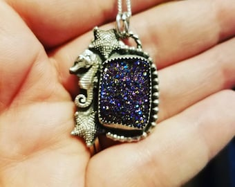 Under the Sea Sterling silver pendant