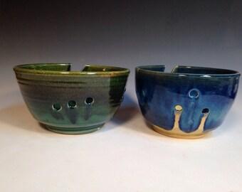 Lg great lakes yarn bowl