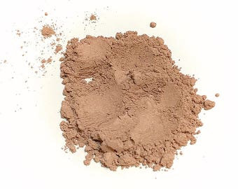 CAPPUCCINO Soft Shimmer Mineral Foundation - Natural Mineral Makeup Vegan Gluten free