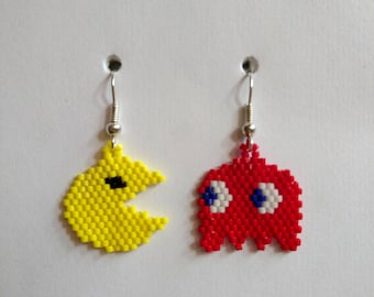 These earrings. PacMan and his ghost