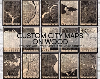 Fathers day gift Fathers day gift from Son Map art Wood wall art 5 year Anniversary Gift for men gift for Boyfriend gift Panel effect Map