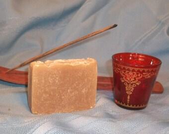 Nag Champa Goat Milk Soap Bar Vegetarian