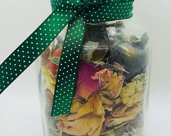Love, Wealth and Health Spell Jar - Spell Jar - Witches Jar - Witches Bottle - UK Seller - Spell in a Jar - Love Spell - gift for a witch