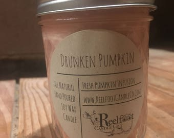 Drunken Pumpkin - Soy Wax Candle