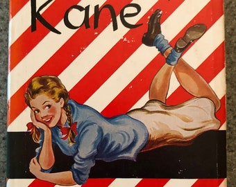1943 First Edition of Candy Kane by Janet Lambert, Cute Young Adult Book