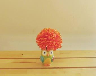 Figurine Vase | Bud Vase | Mini Vase | Flower Holder | Owl Flower Vase | Home Decor | Decor On A Budget