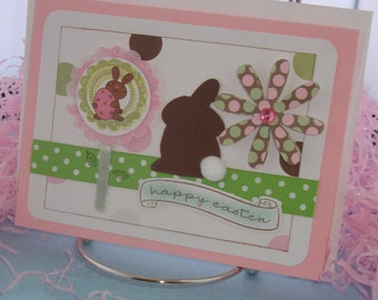 Easter Bunny Banner card HE-0001-1