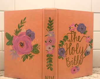Hand Painted Bible