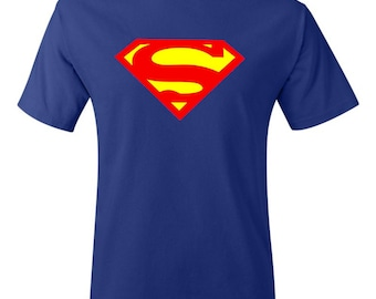Superman Logo Shirt - Comic Shirt - Superhero Shirt - DC Shirt