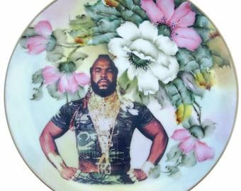 "Sergeant Bosco Portrait Plate 8.4"""