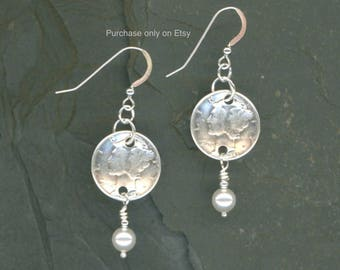75th Birthday Gift Jewelry 1943 Earrings Dimes 75th Anniversary Gift Coins Earrings Money 1943 Anniversary Earrings