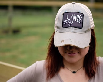 Y'all Trucker Hat - 5 Color Choices