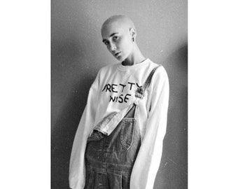 Pretty Wise Crewneck Sweatshirt, Die Antwoord Sweatshirt