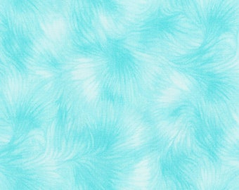 Bonjour-Aqua -Timeless Treasures -Texture-Cotton Fabric- Quilt- Apparel-WindyRobinCotton- *Sold in Half Yard.