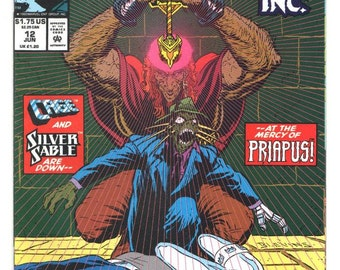 Terror, Inc. - Issue 12 -  Jun 1993 - Modern Age - NM/MT - Marvel Comics