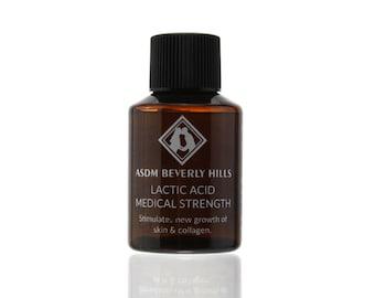 Lactic Acid Peel 60% 1oz Unbuffered, Full Strength, Great for hyperpigmentation