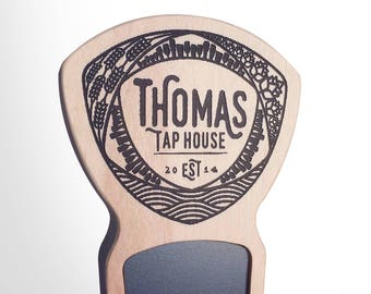Engraved Custom Beer Tap Handle - Mosaic