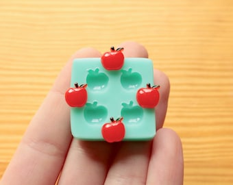 9mm Tiny Apples Silicone Mold