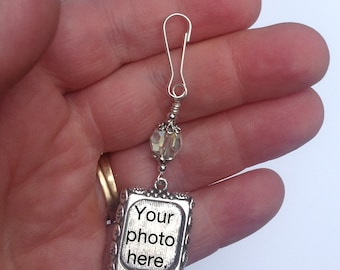 Photo service only- printed and put into my charm, for you. One sided frames only.