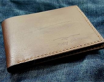 Calfskin Slim Bi-fold Wallet