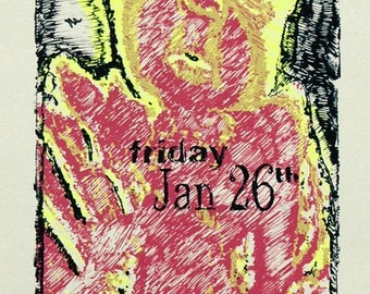 Jeff Tweedy Gig Poster