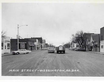WESSINGTON SOUTH DAKOTA 1961 Main Street