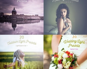 4 in 1 flight #1 packs! 82 Lightroom Presets for LR 4,5,6 & CC