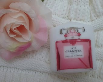 Coco Chanel Purfume Pink Candle