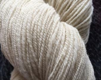 Handspun CVM Romeldale wool yarn