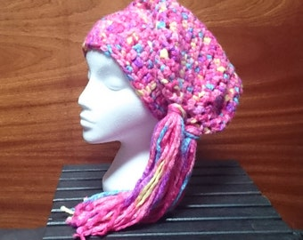 Festival Slouch Hat with Tassels