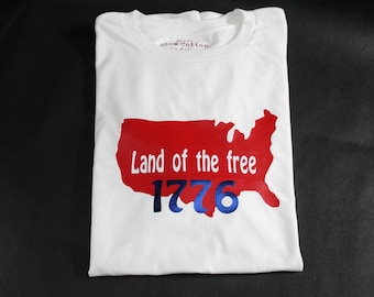 Land of the free t-shirt