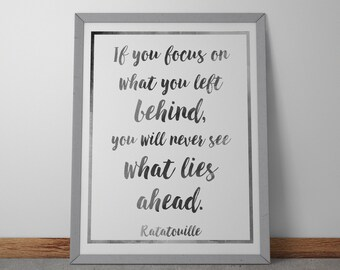 Poster / Print - Ratatouille Movie Quote - 3 Sizes Available