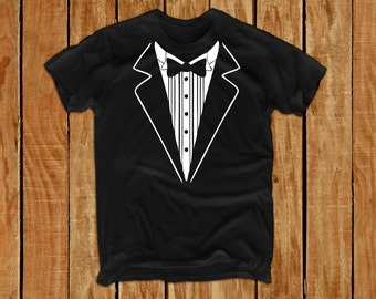 Groom gift from bride groom shirt groomsmen gift bride and groom sign groom tshirt wedding Tuxedo Shirts Bachelor Party