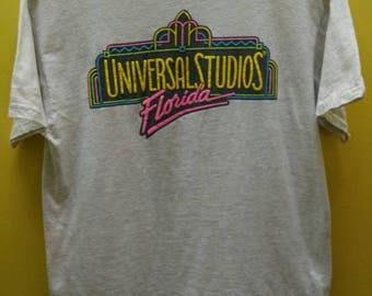 Vintage Universal studios T Shirt Rare