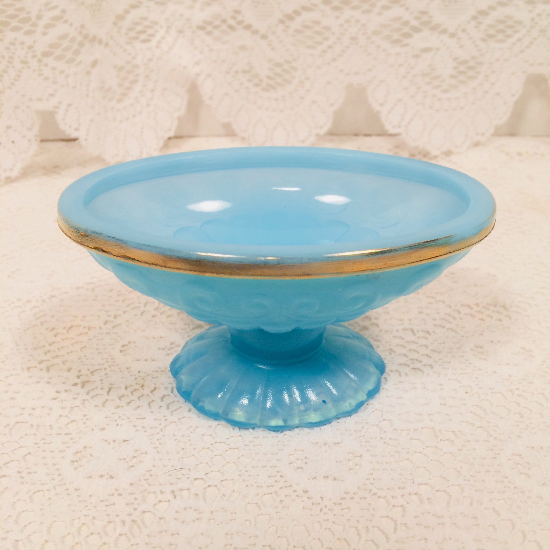 Vintage Avon Bristol Blue Bathroom 3 Piece Set; Perfume Bubble Bath ...