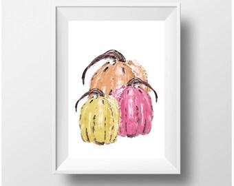 Pumpkin- Printable art-Pumpkin print-Pumpkin printable-Pumpkin decor-Pumpkin wall art-Pumpkin wall hanging-Pumpkin art print-Pumpkin artwork
