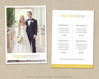 Photography Pricing Template, Price List, Wedding Pricing Guide, Wedding Photography Pricing, Photo Price List, Pricing Template, Pricelist
