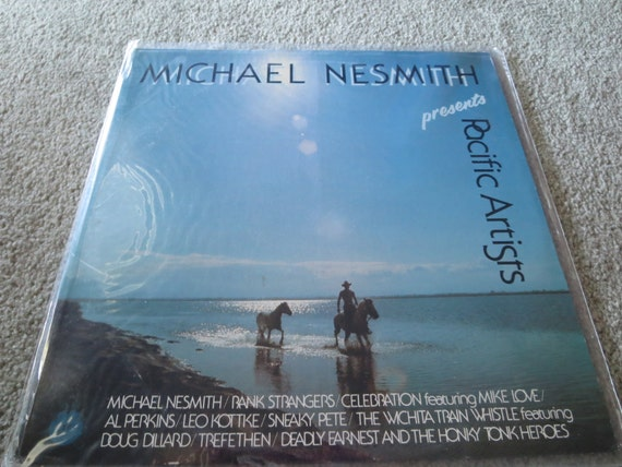 David Jones Personal Collection Record Album - Michael Nesmith - Presents Pacific Artists