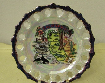 Souvenir Plate California