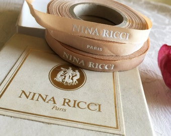 Authentic NINA RICCI  Ribbon – Nina Ricci  Paris Perfumes Haute-couture