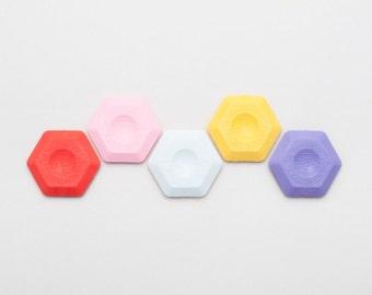 Hexagone gomme — Thermoplastique gomme géométrique